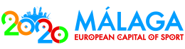 Málaga 2020 – Capital Europea del Deporte Logo
